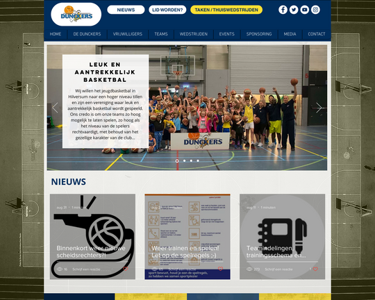 Basketbalvereniging De Duncker Logo
